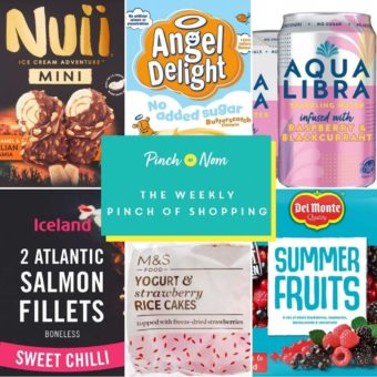 Your Slimming Essentials – The Weekly Pinch of Shopping 23.07 pinchofnom.com