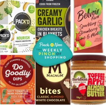 Your Slimming Essentials – The Weekly Pinch of Shopping 24.09 pinchofnom.com