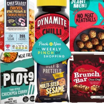 Your Slimming Essentials – The Weekly Pinch of Shopping 17.09 pinchofnom.com