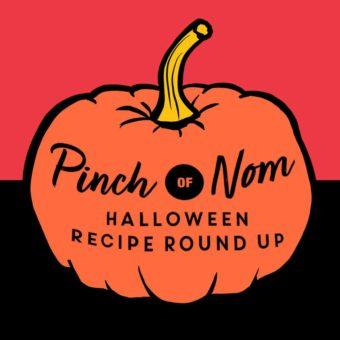 Pinch of Nom Halloween Recipe Round-up pinchofnom.com